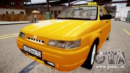 VAZ 2112 Taxi für GTA 4