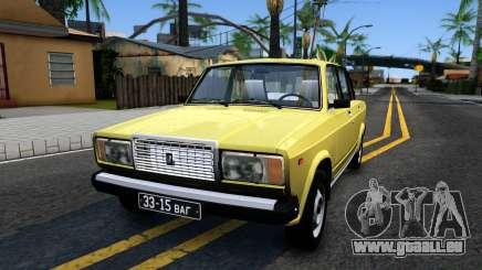 VAZ 2107 UDSSR für GTA San Andreas