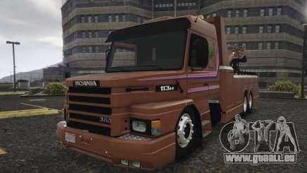 Scania 113H Guincho 4x6 Funcional pour GTA 5