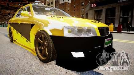 Toyota Chaser Tokyo Drift für GTA 4