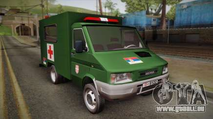 Zastava Rival Military Ambulance für GTA San Andreas