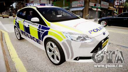 Ford Focus 2013 Swedish Police pour GTA 4