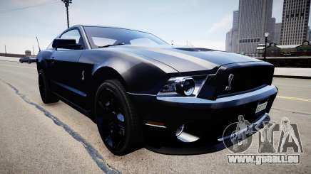 Ford Mustang Shelby GT500 2010 für GTA 4