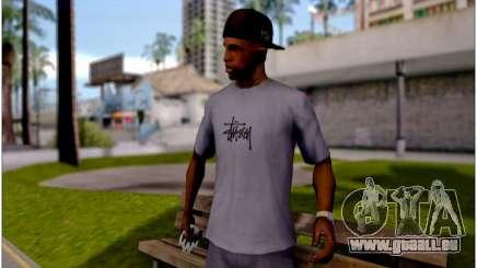 T-Shirt Stussy pour GTA San Andreas