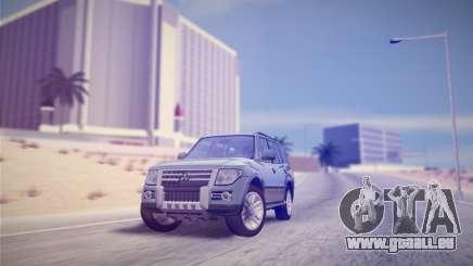 Mitsubishi Pajero IV 2015 pour GTA San Andreas