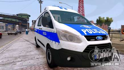 Ford Transit Polish Police 2015 pour GTA 4