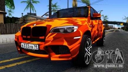 BMW X5M E70 pour GTA San Andreas