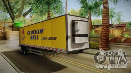 GTA 5 Refrigerated Trailer für GTA San Andreas