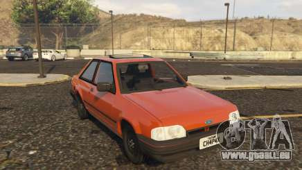 Ford Escort GL Original brasil 1988 für GTA 5