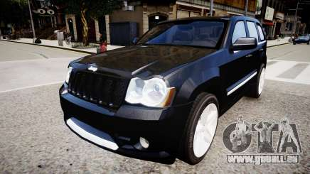 Jeep Grand Cherokee SRT8 v.1.1 pour GTA 4