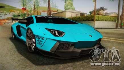 Lamborghini Aventador LP700-4 Liberty Walk LB für GTA San Andreas