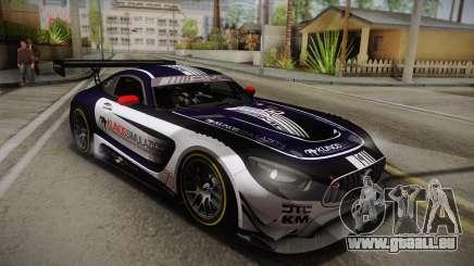 Mercedes-Benz AMG GT3 2016 PJ2 pour GTA San Andreas