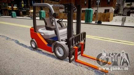 Toyota Forklift (v2.0) pour GTA 4