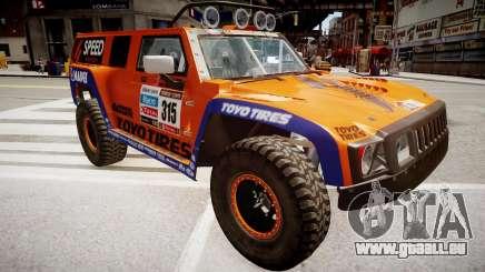 Hummer H3 Robby Gordon 2013 für GTA 4
