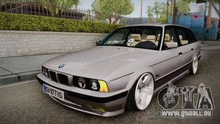BMW 5 series E34 Touring pour GTA San Andreas