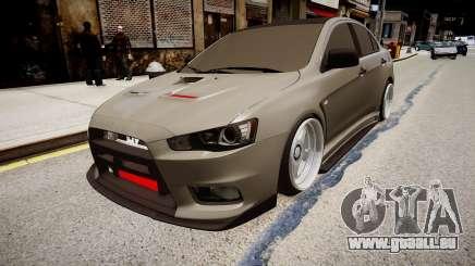 Mitsubishi Lancer Evolution X Stance pour GTA 4
