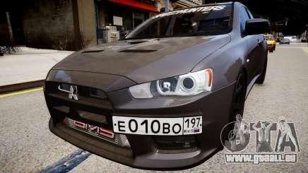 Mitsubishi Lancer Evolution X v1.0 pour GTA 4