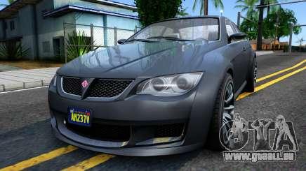 GTA V Ubermacth Sentinel Sedan für GTA San Andreas