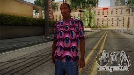 Psychedelic T-Shirt pour GTA San Andreas
