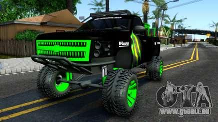Chevrolet Silverado Monster Energy V2 für GTA San Andreas
