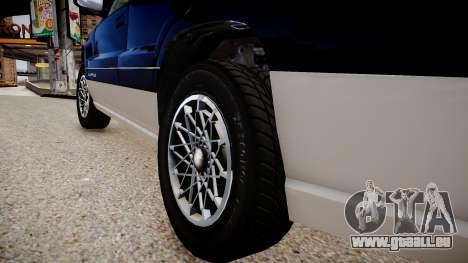 GTA 5 Canis Seminole pour GTA 4 Vue arrière