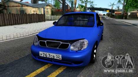 Daewoo Lanos V3 pour GTA San Andreas