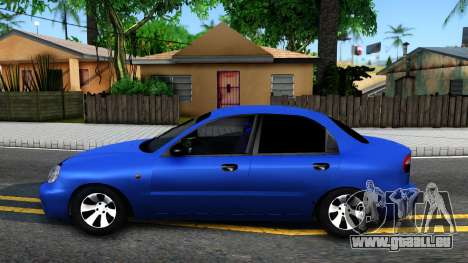 Daewoo Lanos V3 pour GTA San Andreas laissé vue