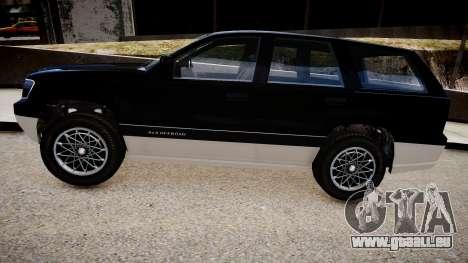 GTA 5 Canis Seminole pour GTA 4 Vue arrière de la gauche