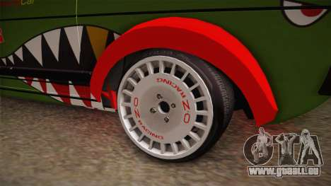 Volkswagen Golf Mk1 GTI 16v ITB v1.0 für GTA San Andreas Rückansicht