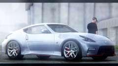 Nissan 370Z Nismo 2016 EU Plate für GTA San Andreas