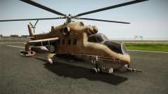 CoD Series - Mi-24D Hind Desert