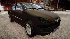 Peugeot 206 SD pour GTA 4