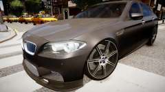 BMW M5 F10 Autovista pour GTA 4