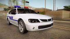 Declasse Merit 2005 Dillimore Police Department pour GTA San Andreas