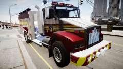 Nouveau camion d'incendie T5