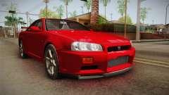 Nissan Skyline Tunable Pro Street v2 für GTA San Andreas