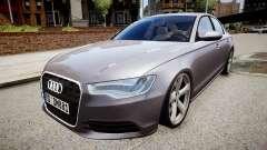 Audi A6 2012 Style pour GTA 4