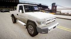 Toyota Land Cruiser Pick-Up 79 2012 v1.0 pour GTA 4