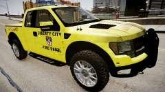 Ford Raptor SVT Department Lifeguard pour GTA 4