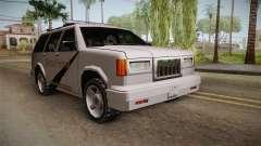 Dundreary Landstalker 1993 SA State Patrol pour GTA San Andreas