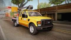 Ford F-350 2008 Cherry Picker pour GTA San Andreas