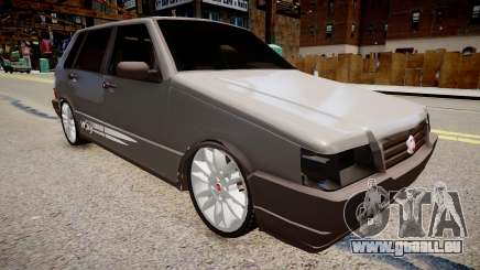 Fiat Uno Way 17 Fixa pour GTA 4