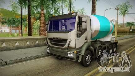 Iveco Trakker Hi-Land Cement Mixer 8x4 v3.0 für GTA San Andreas