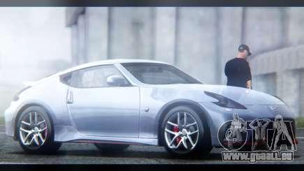 Nissan 370Z Nismo 2016 EU Plate pour GTA San Andreas