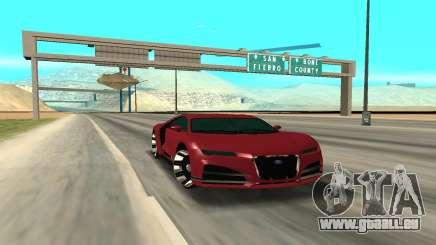 TRUFFADE NERO für GTA San Andreas