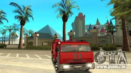 KAMAZ 6520 pour GTA San Andreas