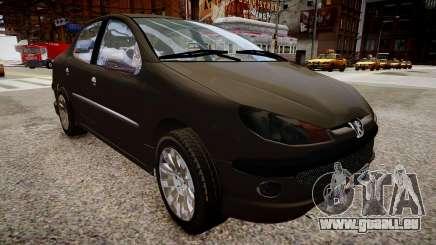 Peugeot 206 SD für GTA 4