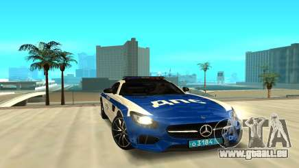 Mercedes-Benz AMG GT 2015 pour GTA San Andreas