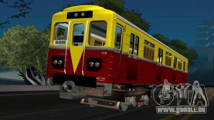Wagon de type ECA 009 pour GTA San Andreas