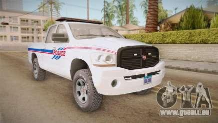 Dodge Ram 2008 Union Pacific Railroad PD für GTA San Andreas